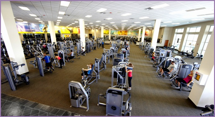LA Fitness Weight Machines