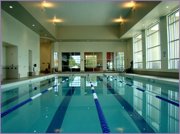 pool inside the Las Colinas LA Fitness