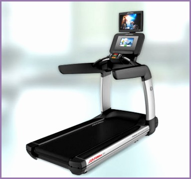 Life Fitness Discover Treadmill with SI Tablet Console and TV