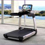 4  Life Fitness Treadmill with Tv