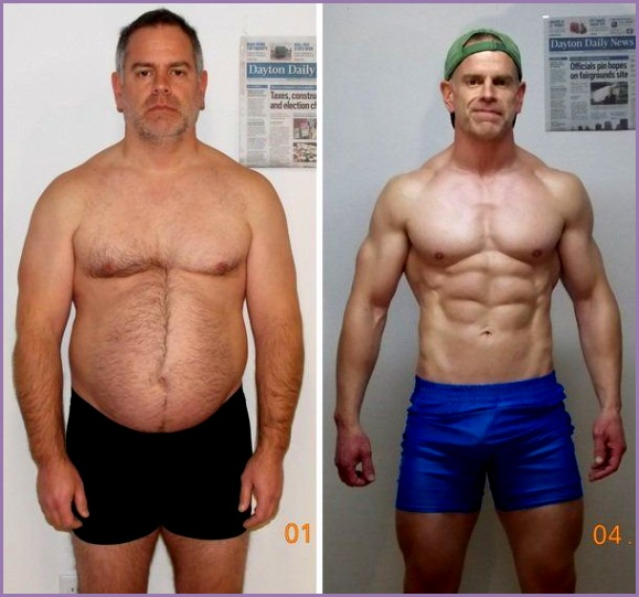 Man loses 40 pounds gains a six pack and $50 000