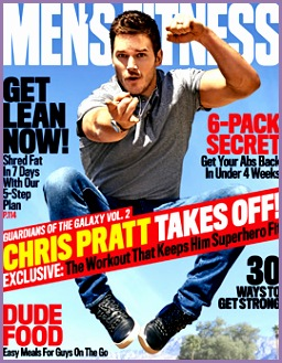 Chris Pratt Shows f His Skills on Men s Fitness Cover