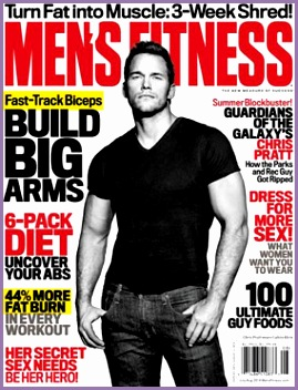 Chris Pratt Looks So Buff on Men s Fitness Cover