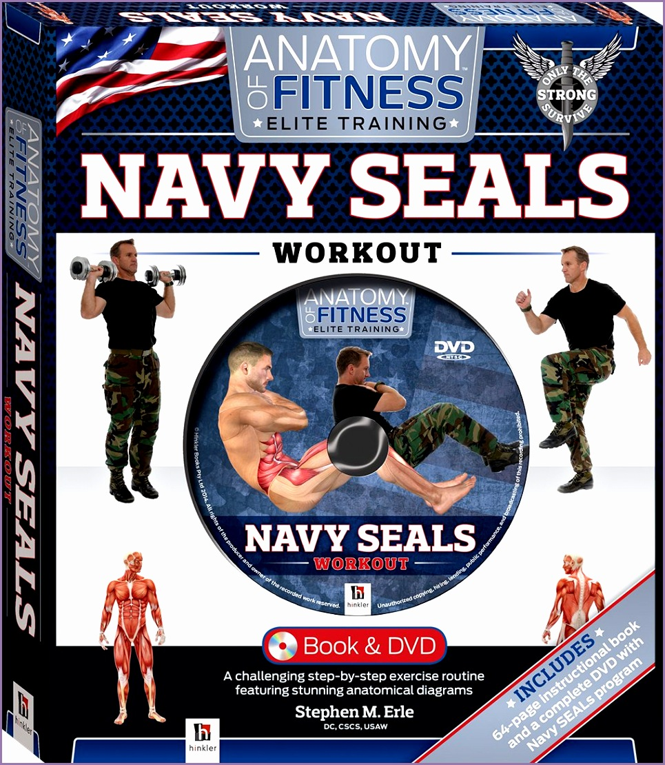 Anatomy of Fitness Elite Training Navy Seals Workout Hinkler Amazon Books