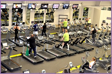 18 000 square foot fitness area