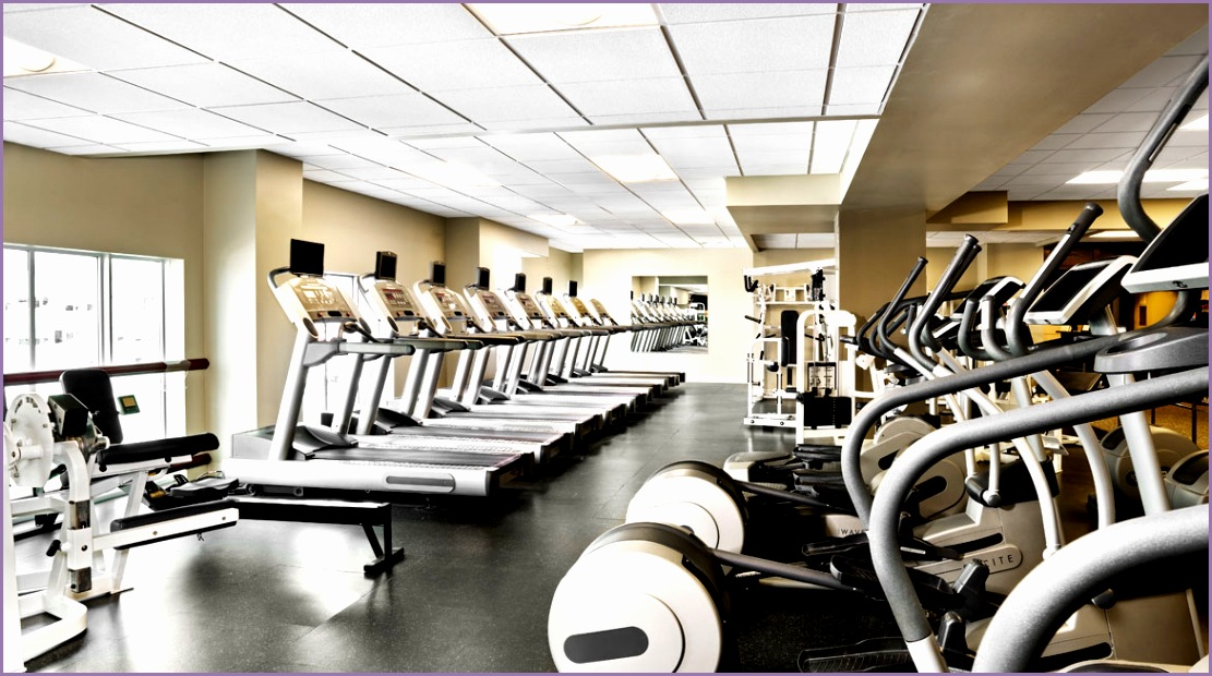 State of the art fitness equipment available to all guests
