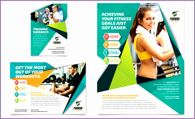 Fitness Trainer Flyer & Ad