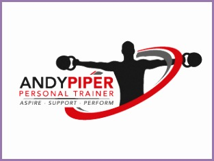 Andy Piper Personal Trainer logo design concepts 18