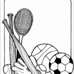 4  Physical Education Clipart Black and White