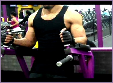 Great Abs Exercise for Six Pack Abs at Planet Fitness hod wins