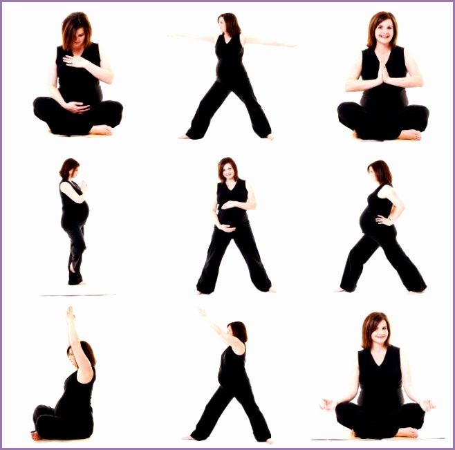 Pregnancy Yoga Poses Gallery [Slideshow]