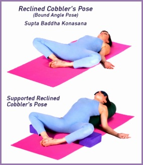 Yoga ReclinedCobblersPose 01 300x350