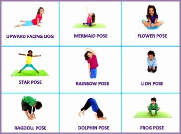 kid yoga poses