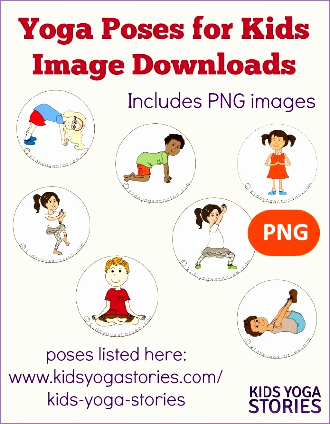 58 Yoga Poses for Kids