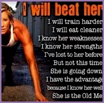 I will beat her · Women s FitnessFitness