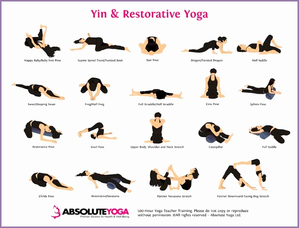 Yin yoga is a more elongated version of yoga where yoga asanas and poses are held for a longer time It aims to affect the ligaments joints and bones of