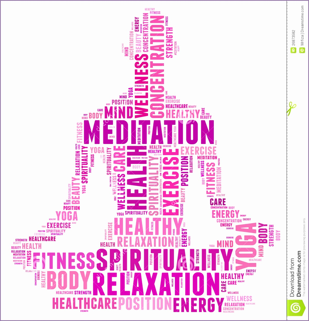 Yoga and health info text