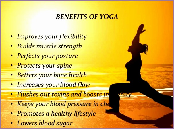 e of the many benefits of Yoga It protects your spine