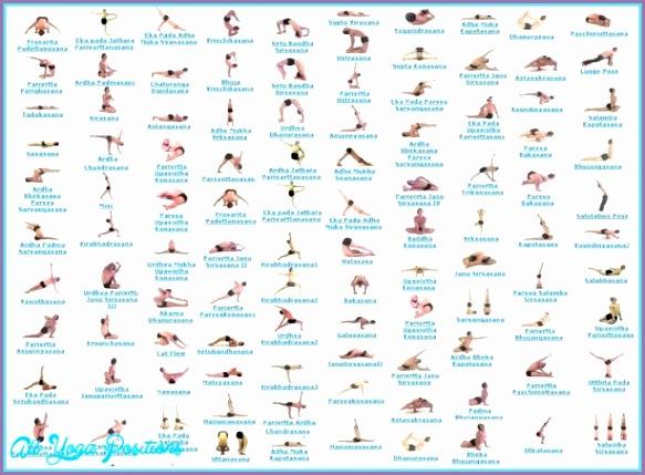 Yoga poses sanskrit