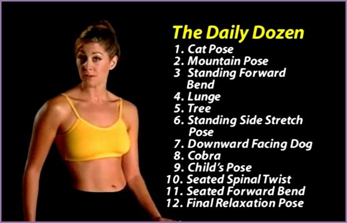 The Daily Dozen Yoga for Dummies yoga Pinterest