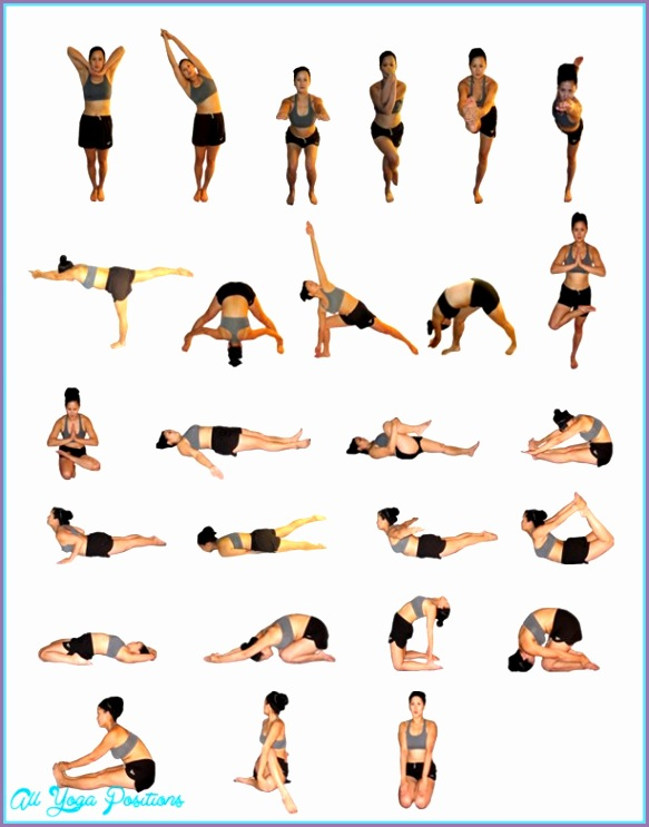 Yoga poses on your back 16
