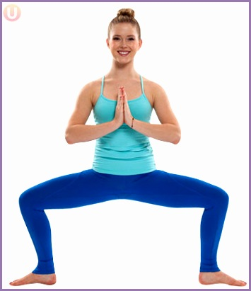 Yoga Horse Pose Exercise
