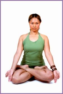 Yoga How to do lotus pose 01 300x350