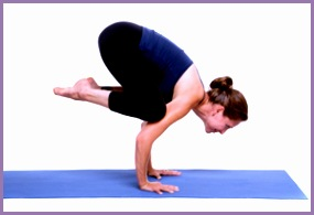 Yoga How to Do Crow Pose in Yoga 01 300x208