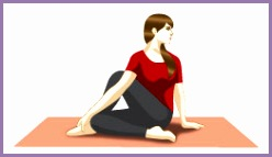 Ardha Matsyendrasana Sitting Half Spinal Twist Pose