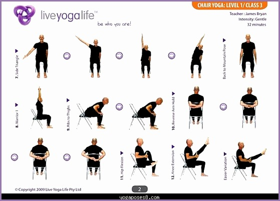easy yoga poses for seniors yoga with a