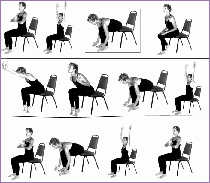 Chair Yoga Poses for Seniors Style