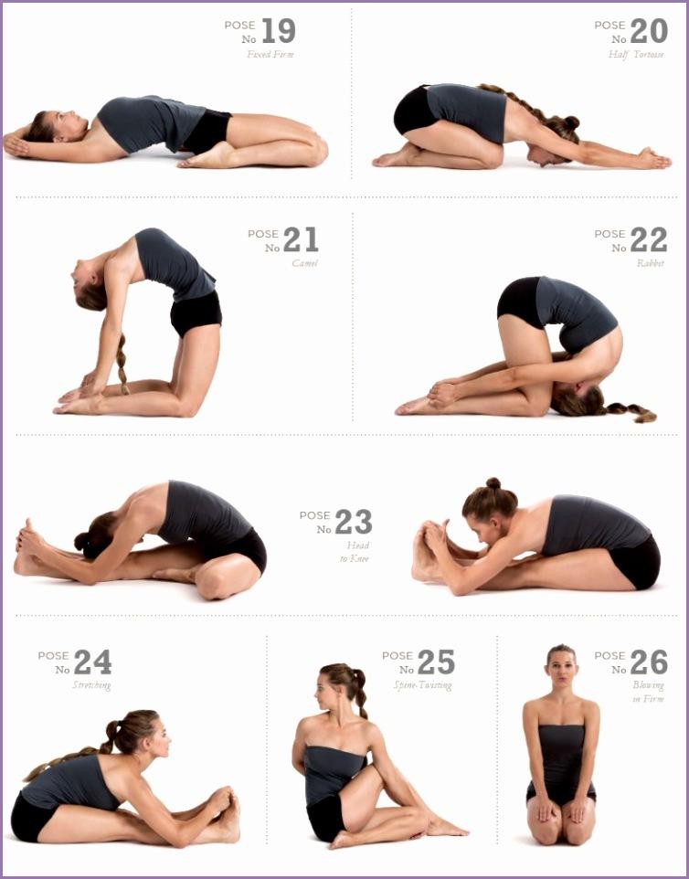 26 bikram yoga poses