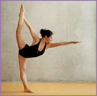 standing bow pose