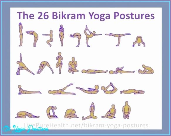 26 poses of bikram yoga