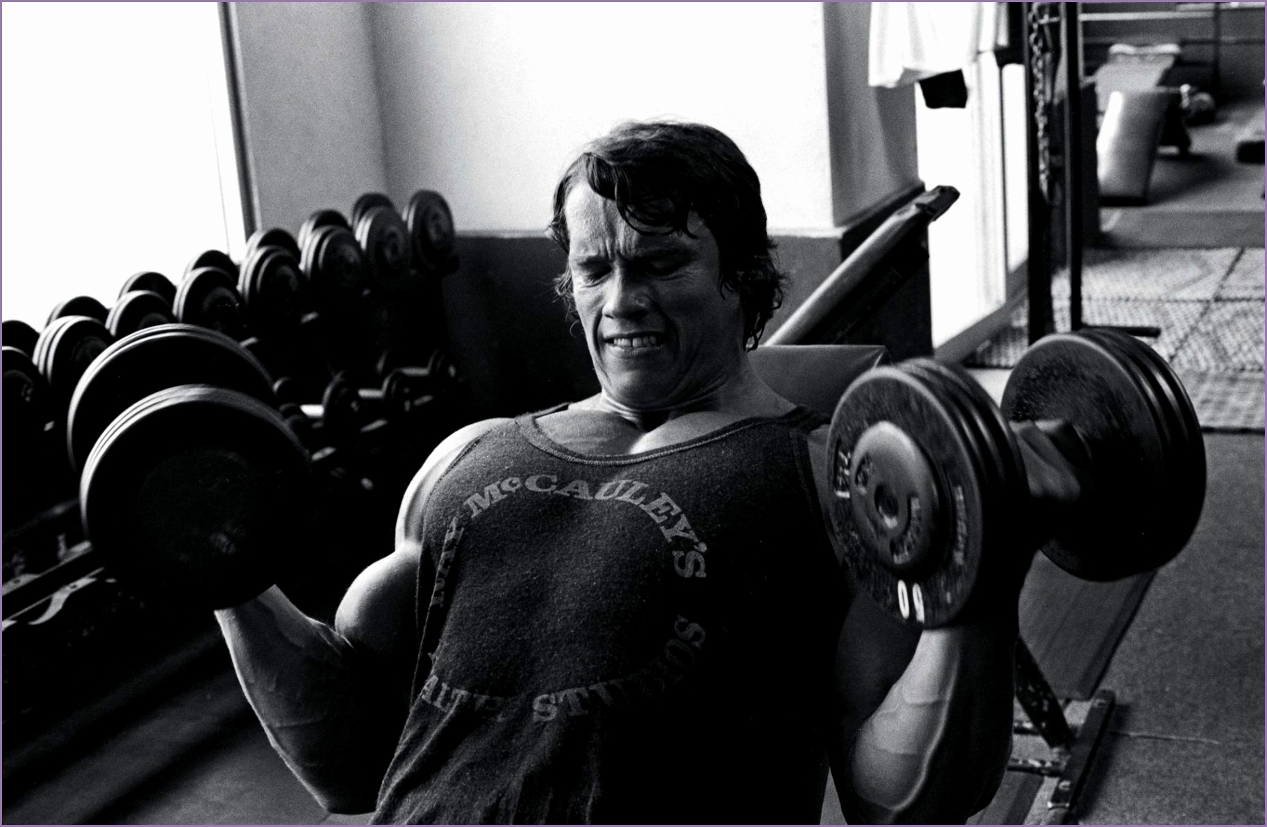 Arnold Schwarzenegger Bodybuilding Sports