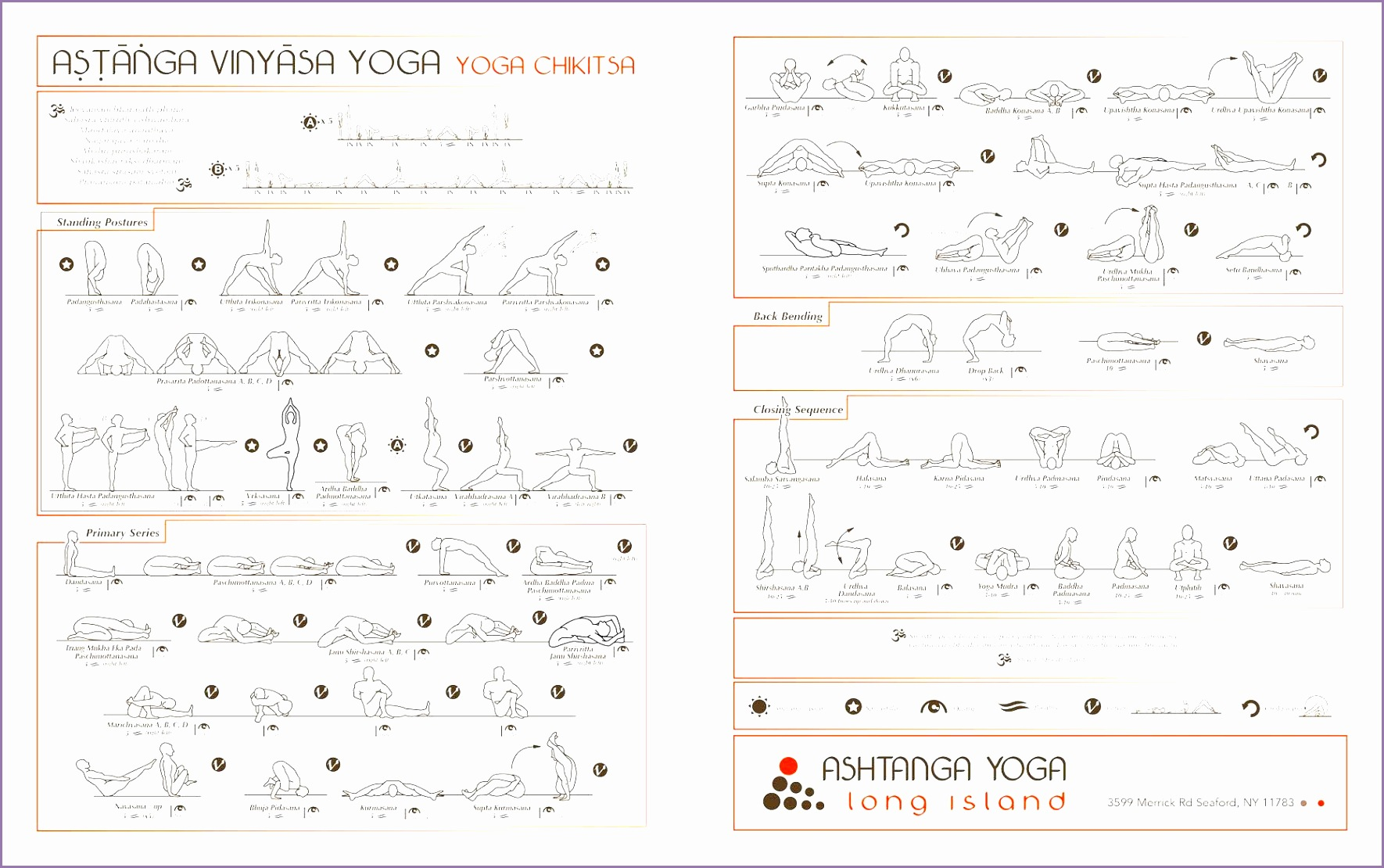 ashtanga yoga poses names