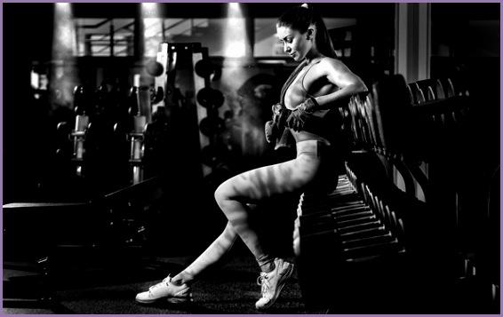 fitness model gym sport
