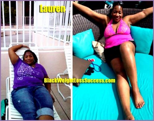 lauren lost 94 pounds
