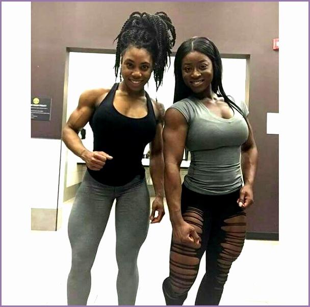 fit an muscular black girls