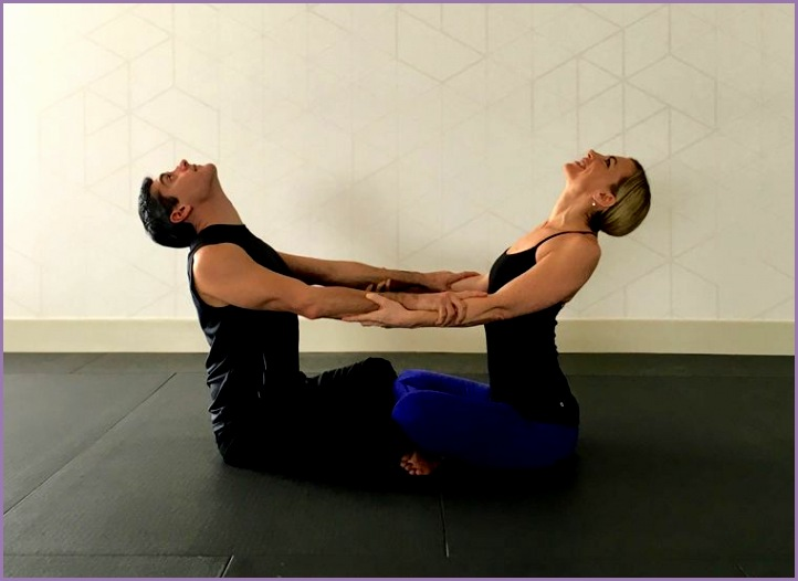 10 partner yoga poses strengthen relationship