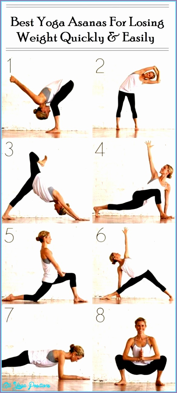 easy yoga poses weight loss