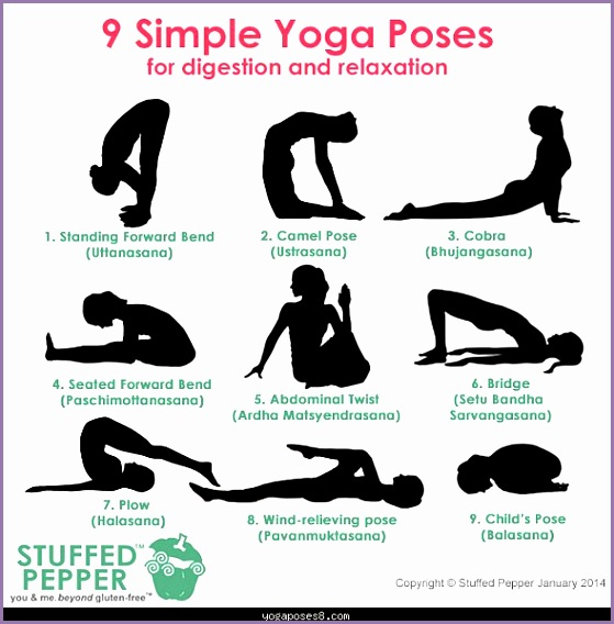 yoga poses for relaxation