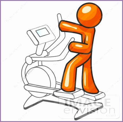 chair exercise cliparts