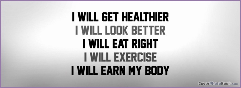 I Will Exercise Earn Body