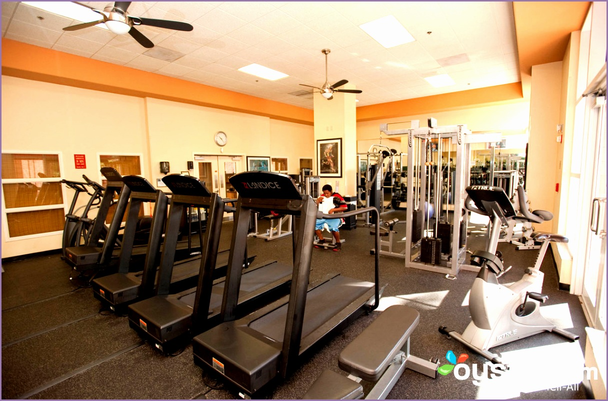 fitness center rosen centre hotel v
