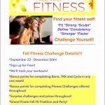 7 Fitness Challenge Flyer