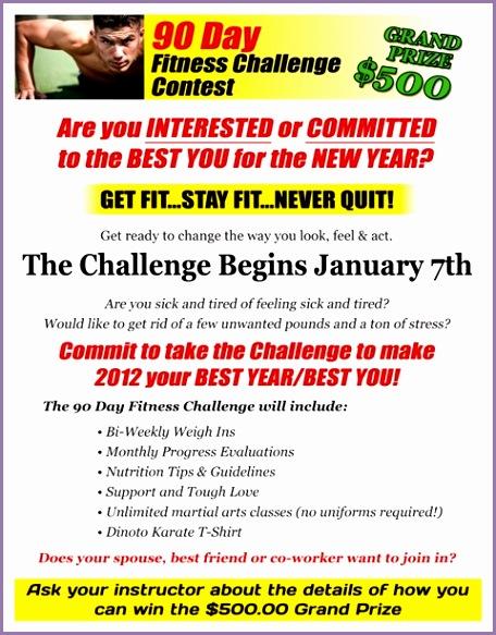 90 day challenge info