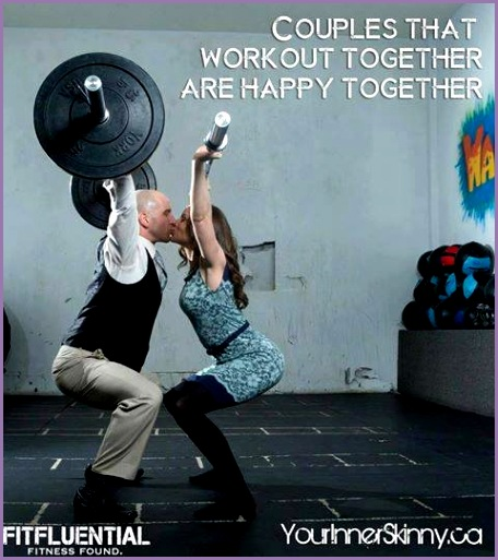 Couples That Workout To her Are Happy To her