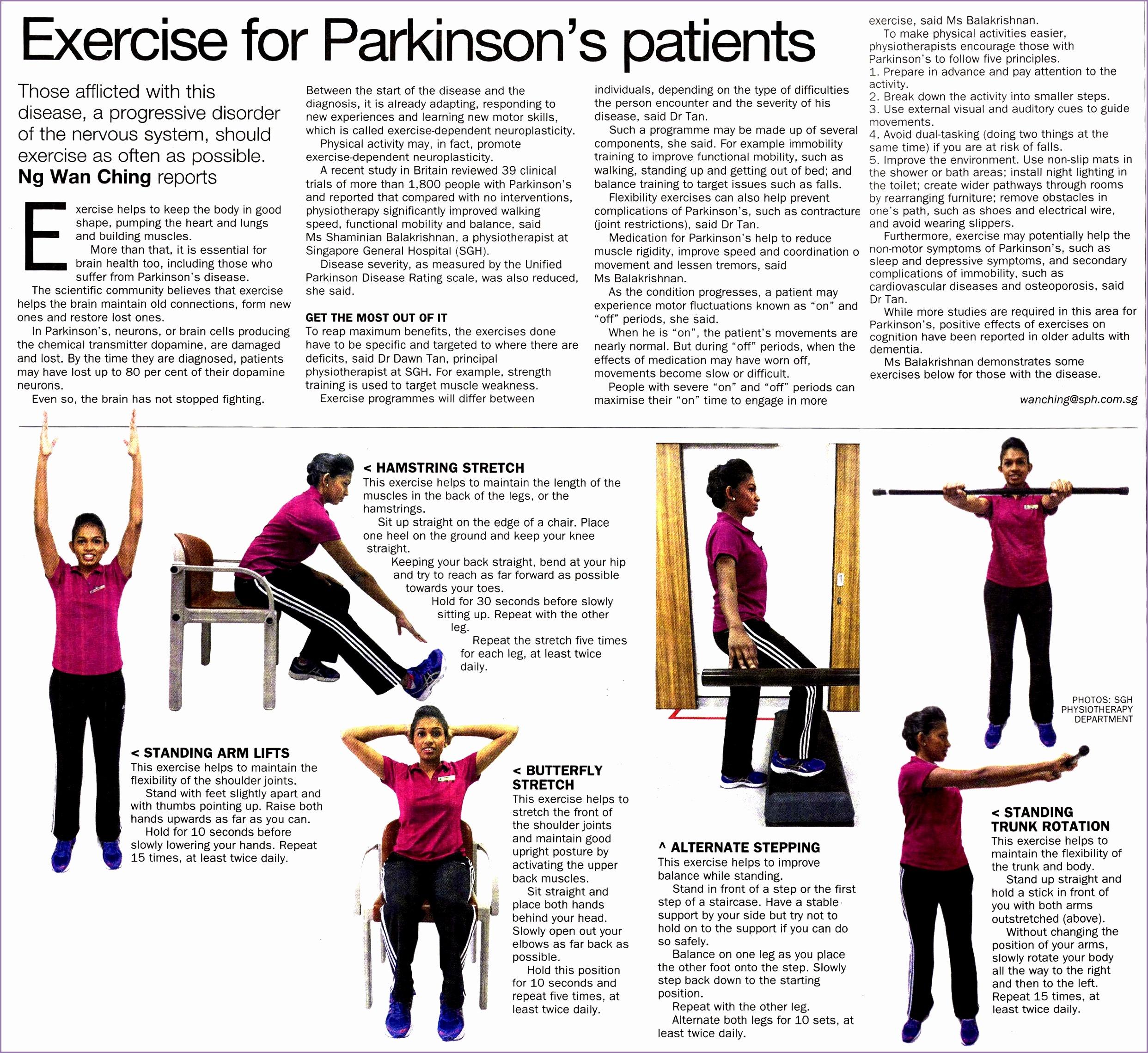 ExerciseforParkinsonspatients