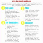 5 Fitness Goals List